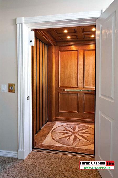 آسانسور هیدرولیک خانگی