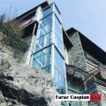 آسانسور خانگی نما شیشه