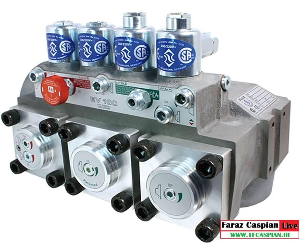 شیر هیدرولیک EV100_2_5