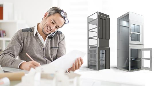 آسانسور خانگی فراز کاسپین