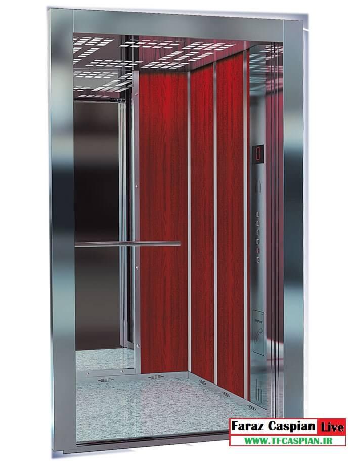 کابین آسانسور mdf