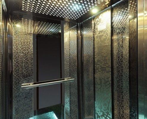 کابین آسانسور لوکس