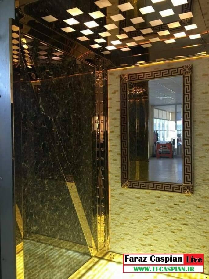 کابین آسانسور طرح خاص