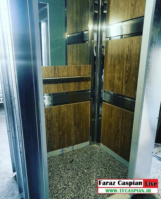 کابین mdf آسانسور