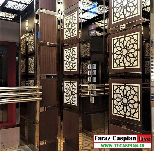 کابین تلفیقی آسانسور