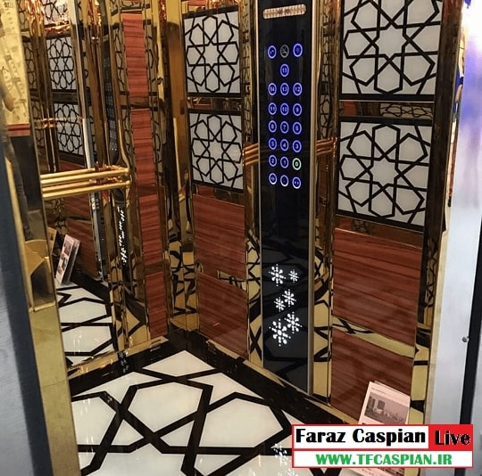 کابین آسانسور تلفیقی