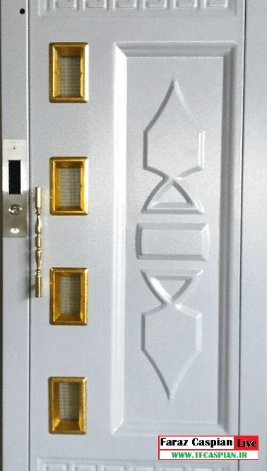 درب لولایی آسانسور طبقه