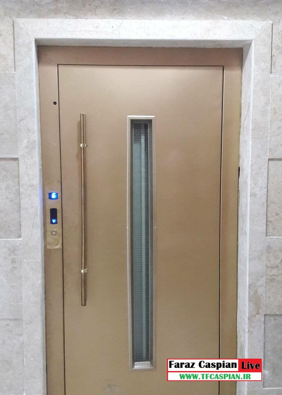 درب طبقه لولایی