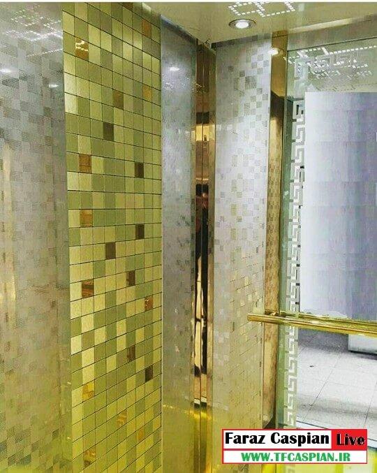 کابین آسانسور استیل