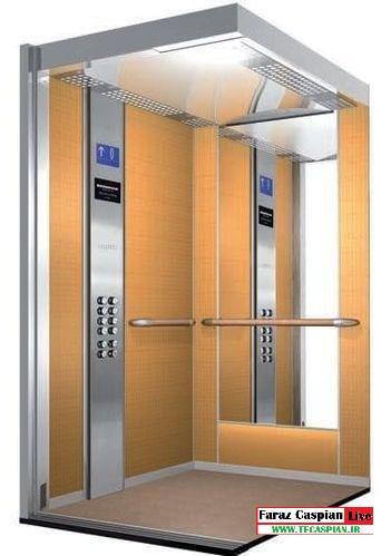کابین آسانسور ام دی اف
